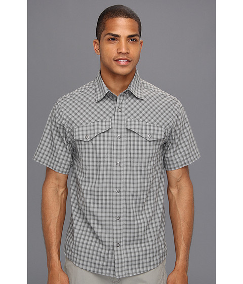 Outdoor Research - Termini Shirt (Pewter) Men's Short Sleeve Button Up