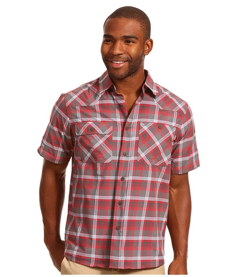 Outdoor Research - Growler S/S Shirt (Pewter) Men's Short Sleeve Button Up