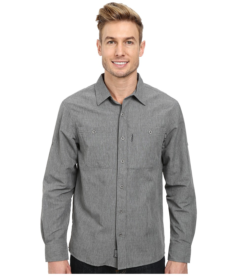 Outdoor Research - Wayward L/S Shirt (Charcoal) Men's Clothing