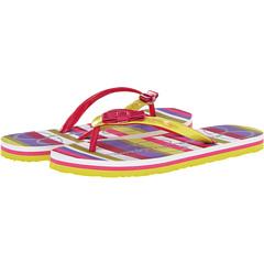 SALE! $9.99 - Save $8 on Jessica Simpson Kids Madison (Little Kid Big Kid) (Citron Stripe Eva) Footwear - 44.50% OFF $18.00
