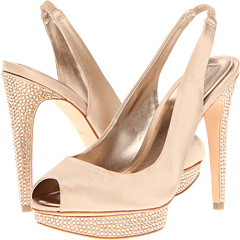 Falcon (Champagne Satin) High Heels