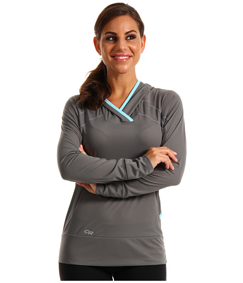 Outdoor Research - Echo Hoodie (Pewter) Women's Sweatshirt