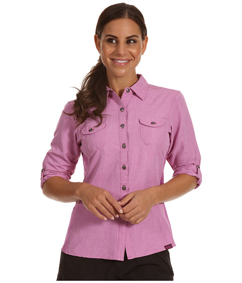 Outdoor Research - Reflection L/S Shirt (Crocus) Women's Long Sleeve Button Up