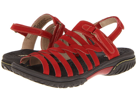 Jambu - Holly (Red) Women's Sandals