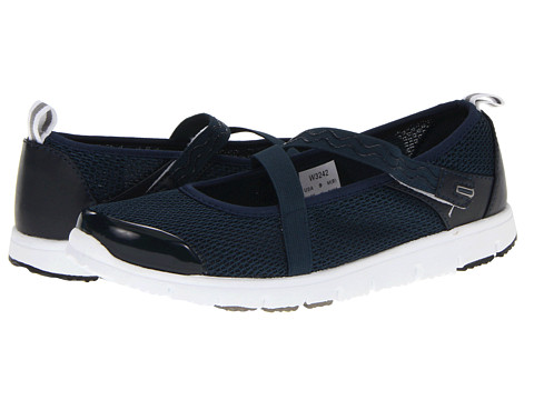 Propet - Travel Walker Mary Jane (Navy) Women's Hook and Loop Shoes