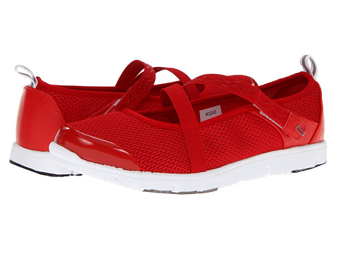 Propet - Travel Walker Mary Jane (Red) Women's Hook and Loop Shoes
