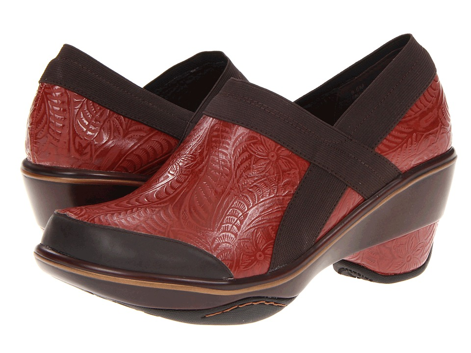 Jambu - Cali - Embossed (Red) Women