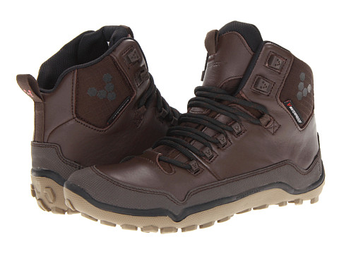 Vivobarefoot - Off Road Hi (Dark Brown) Women's Running Shoes