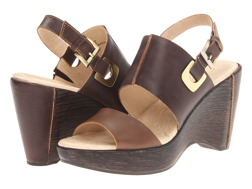 Jambu - Gem (Brown/Khaki) Women's Wedge Shoes