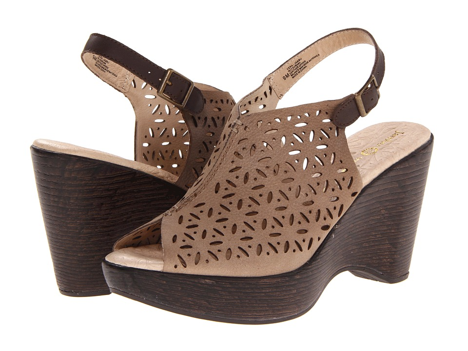 Jambu - Vera - Jambu (Taupe) Women's Wedge Shoes