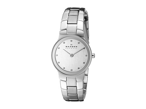 Skagen - 430SSXD Stainless Steel Watch (Silver/Chrome) Analog Watches