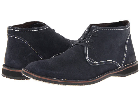 John Varvatos - Hipster Chukka (Midnight) Men