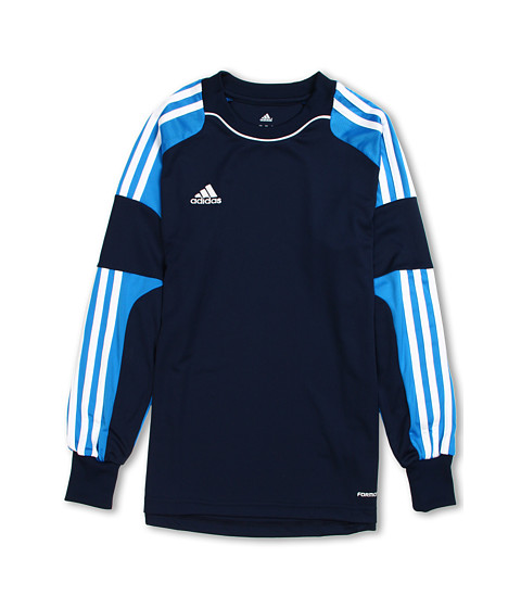 adidas Kids - Revigo 13 Goalkeeping Jersey (Little Kids/Big Kids) (Collegiate Navy/Pool/White) Boy