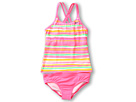Nike Kids Tie Dye Stripe Spider Back Tankini 2-Piece