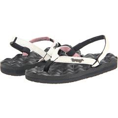SALE! $11.99 - Save $16 on Reef Kids Little Reef Star Dreams (Infant Toddler Little Kid Big Kid) (Charcoal White) Footwear - 57.18% OFF $28.00