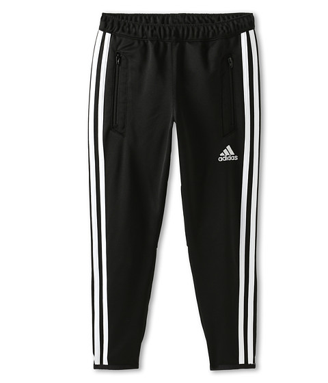 adidas Kids - Tiro 13 Training Pant (Little Kids/Big Kids) (Black/White) Boy