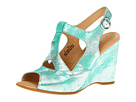 Born - Caity - Crown Collection (Acqua (Aqua) Metallic)