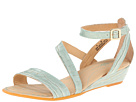 Born - McCord - Crown Collection (Sea Green Metallic Croc Print)