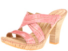 Born - Emden - Crown Collection (Rosa (Pink) Metallic Croc Print)