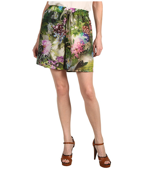 Paul Smith - Garden Print Short (Garden Print) Women