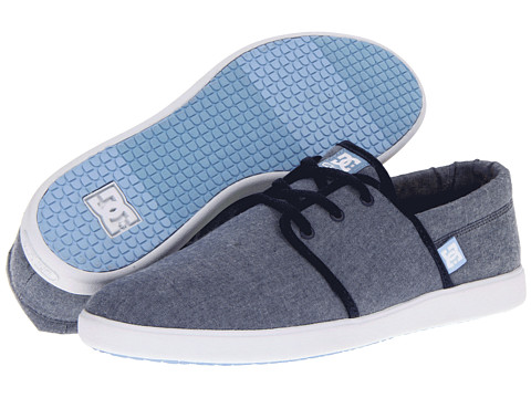 DC - Haven (Navy/White) Men's Skate Shoes