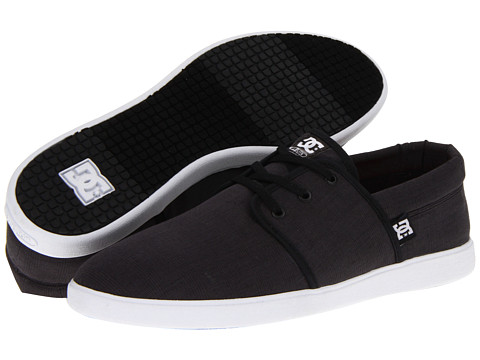 DC - Haven (Black/White) Men's Skate Shoes
