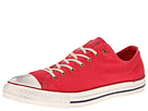 Converse - Chuck Taylor All Star Washed Canvas Ox (Tango Red Washed) - Footwear