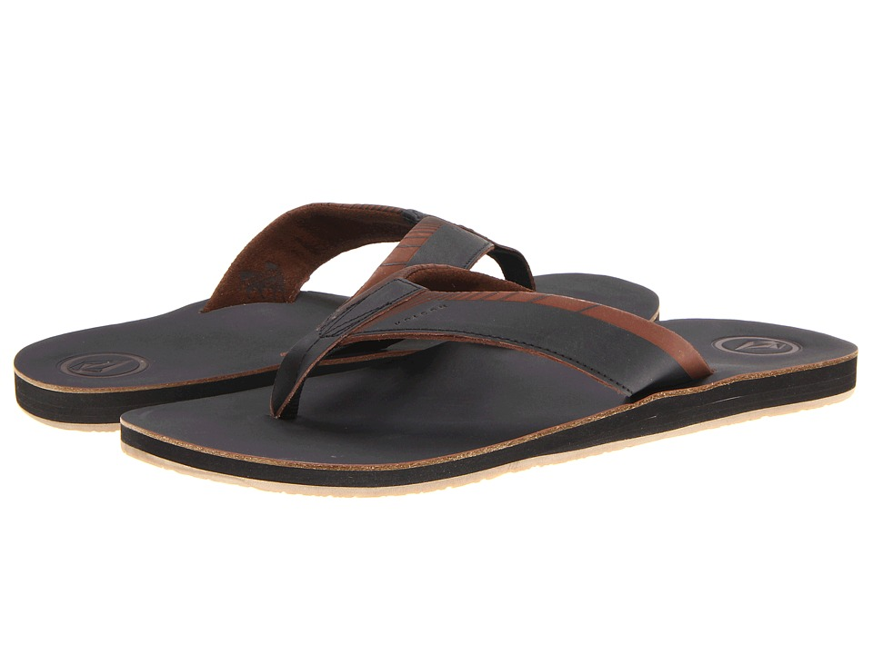 Volcom - Lector Creedler (Black 1) Men's Sandals