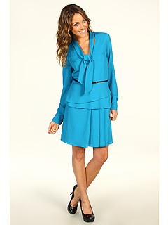 SALE! $119.99 - Save $275 on SACHIN BABI Mia Dress (Teal) Apparel - 69.62% OFF $395.00