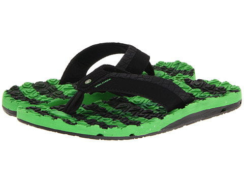 Volcom - Modtech Drain Creedler (Green) Men's Sandals