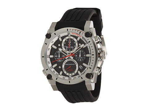 Bulova Mens Precisionist - 98B172 (Black) Chronograph Watches