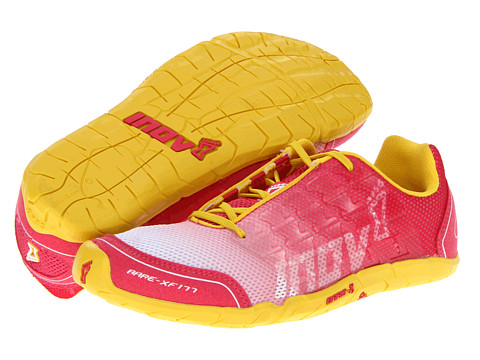 inov-8 - Bare-XF 177 (Pink/Yellow) Women's Running Shoes