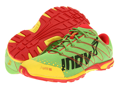 inov-8 - F-Lite 195 W/RopeTec (Lime/Yellow/Red) Running Shoes