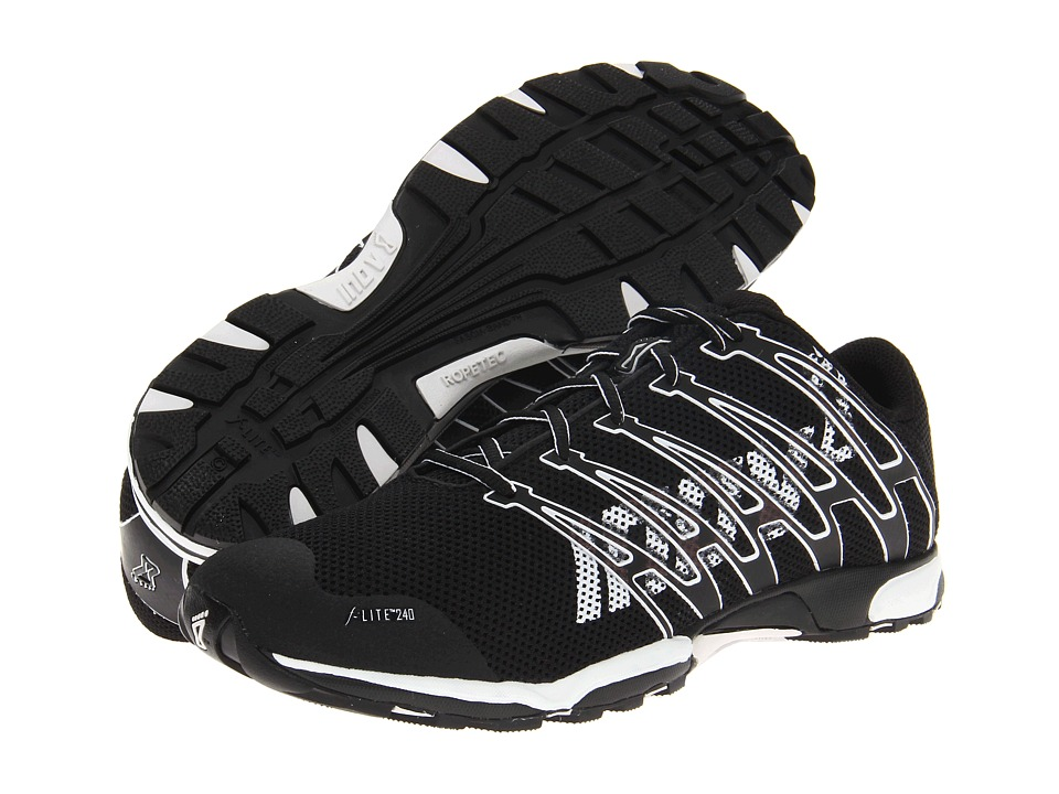 inov-8 - F-Lite 240 (Black/White) Athletic Shoes