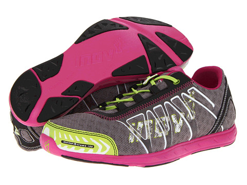 inov-8 - Road-XTreme 188 (Grey/Lime/Pink) Running Shoes