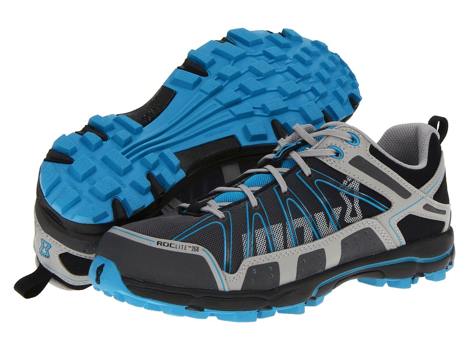 inov-8 - Roclite 268 (Grey/Blue1) Women's Running Shoes