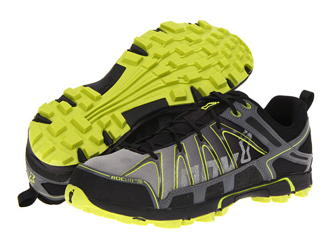 inov-8 - Roclite 295 (Grey/Lime) Running Shoes