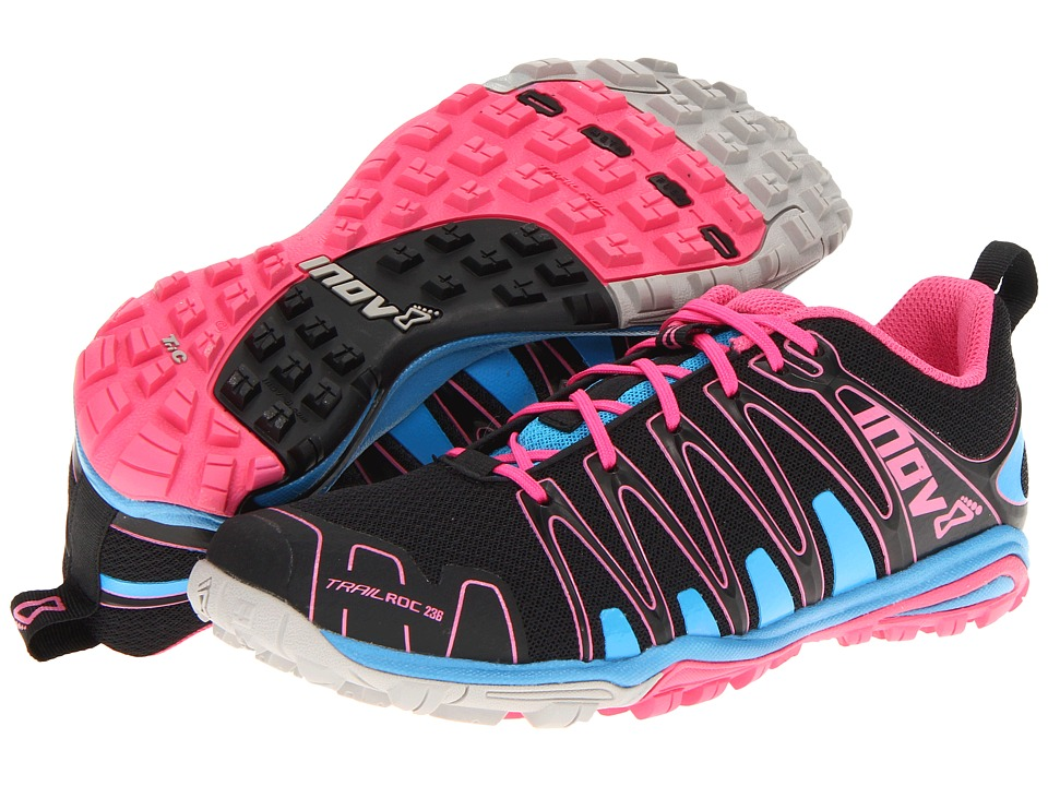 inov-8 - Trailroc 236 (Black/Blue/Pink) Women's Running Shoes