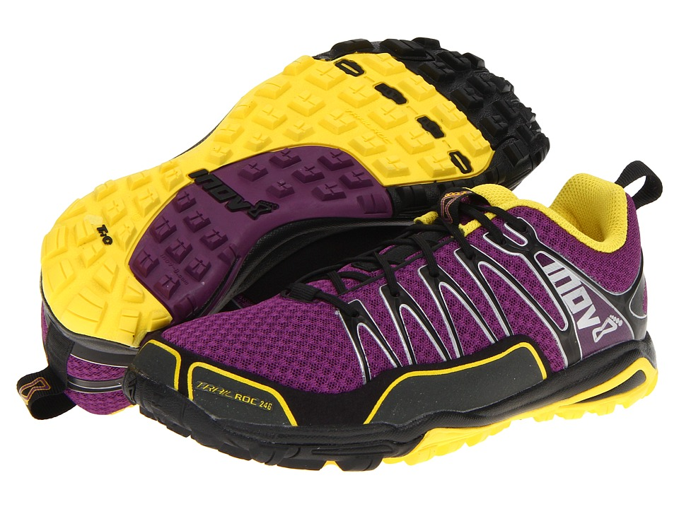 inov-8 Trailroc 246 (Purple/Grey/Yellow) Women