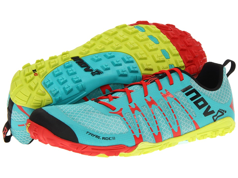 inov-8 - Trailroc 150 (Green/Lime) Running Shoes