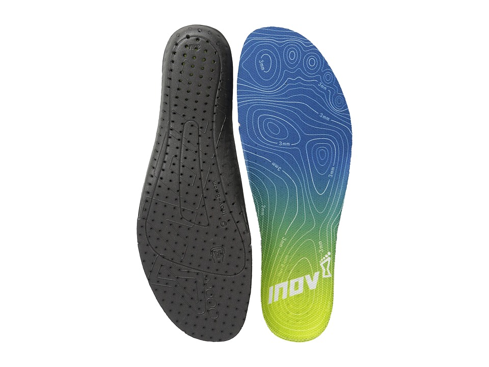inov-8 - 3MM Footbed (Blue/Lime) Insoles Accessories Shoes