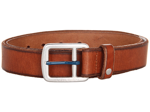 Volcom - Thrift Belt (Brown) Men's Belts