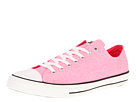 Converse - Chuck Taylor All Star Washed Neon Ox (Neon Pink) - Footwear