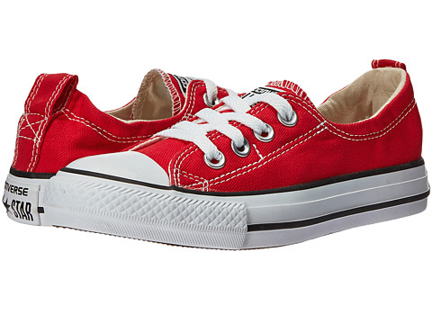 Converse - Chuck Taylor All Star Shoreline Slip-On Ox (Varsity Red) Women's Slip on Shoes