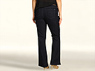 DKNY Jeans Plus Size Soho Bootcut 32 in Stockholm Wash