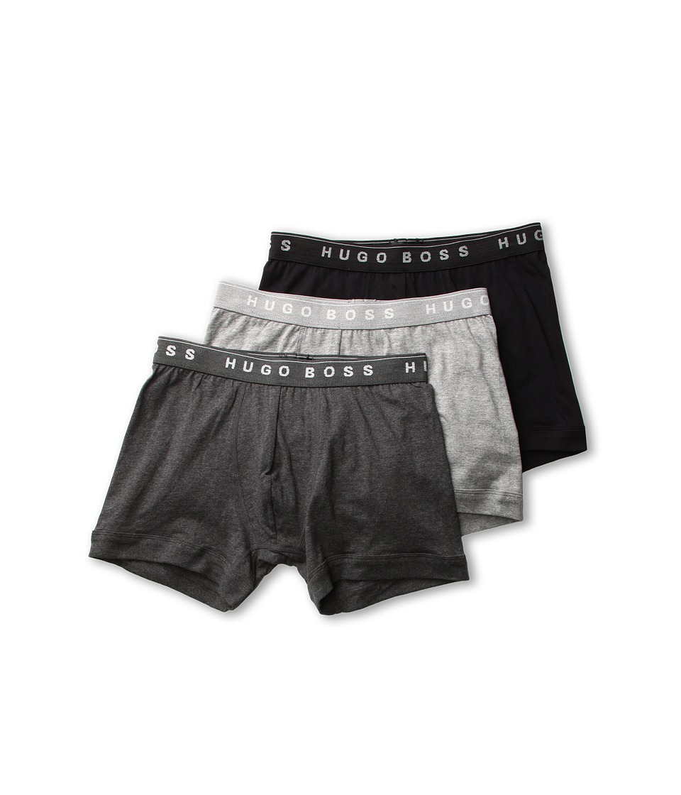 BOSS Hugo Boss - Boxer Brief 3 Pack 50239869 (Grey/Charcoal/Black) Men's Underwear