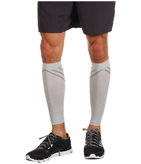 Smartwool - PhD Compression Calf Sleeve (Silver) Outdoor Sports Equipment