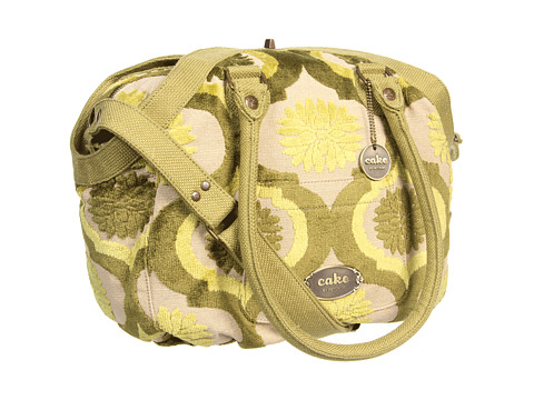 petunia pickle bottom - Hampton Holdall (Key Lime Cream Cake) Diaper Bags