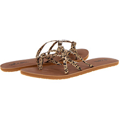 SALE! $16.99 - Save $8 on Volcom New School Sandal (Leopard) Footwear - 32.04% OFF $25.00