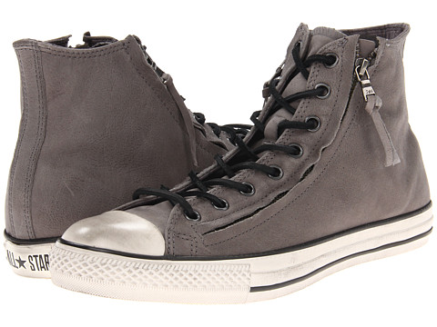Converse by John Varvatos Chuck Taylor All Star Double Zip Hi (Phaeton Gray) Lace up casual Shoes